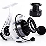 YONGZHI Fishing Reels Spinning Reel for Saltwater 13 +1 BB Light Weight Ultra Smooth Powerful with Free Spare Graphite Spool For Sale