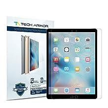 Tech Armor Apple iPad Pro 9.7-inch Protector de Pantalla Anti Reflejo/Anti Huellas Dactilares [Paquete con 2] Garantia de por Vida