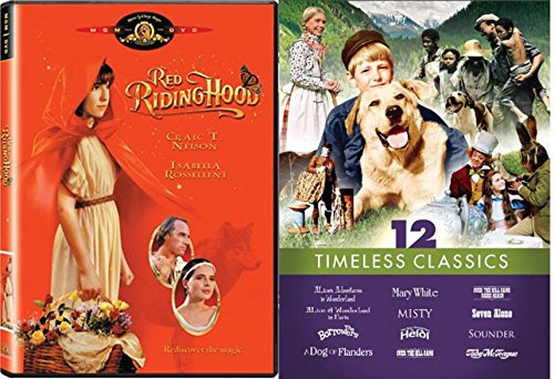 Timeless Classics 13-Movie Bundle: Red Riding Hood, Alice in Paris, The Borrowers, A Dog of Flanders, Mary White, Misty, Heidi, Over the Hill Gang, Seven Alone, Sounder, Toby McTeague