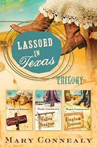 book cover of Lassoed in Texas Trilogy