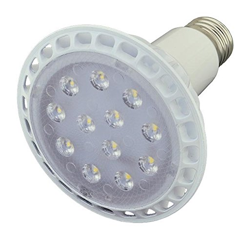 LEDwholesalers PAR30 LED Spot Light Bulb 30 Degree Beam Angle, 14 Watt, Long Neck, Warm White, 1345WW - 30 Degree Beam