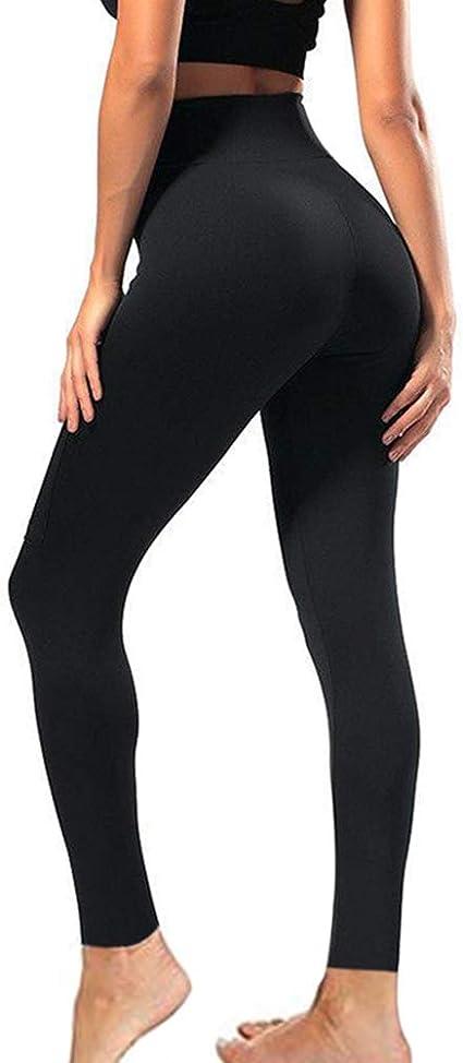 Tummy Control Full Length Tights for Athletic Yoga Regular /& Plus Size TNNZEET High Waisted Leggings for Women