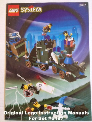 Amazon Instruction Manuals For Lego Time Cruisers Set 6497