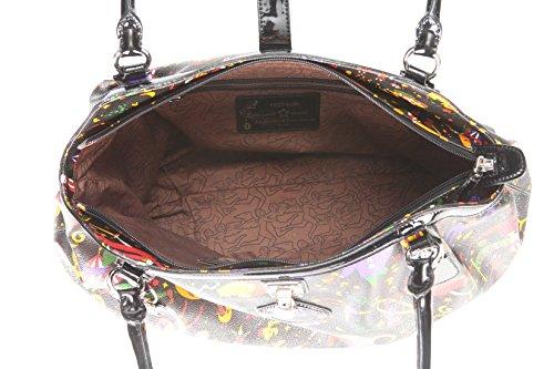 Maxi Shopper Piero Guidi Magic Circus Mujer–214814030 negro