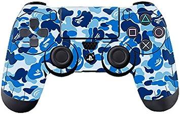 Morbuy PS4 Controller Skin Diseñador Piel Pegatina para Sony Playstation 4 PS4 Slim PS4 Pro DualShock Mando inalámbrico x 1 (Graffiti Blue): Amazon.es: Electrónica