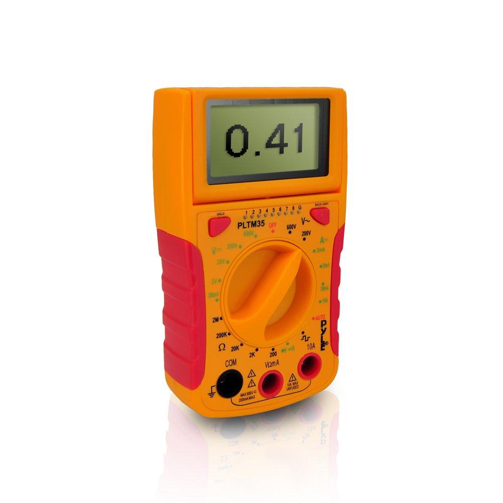 Pyle Meters PLTM35 Mini Digital LCD Multimeter
