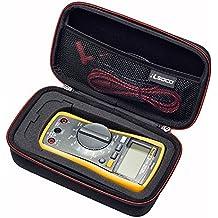 RLSOCO Carrying case for Fluke 117/115/116/114/113 Digital Multimeter and Fluke F15B+F17B+F18B+, Neoteck Pocket Digital Multimeter, Crenova MS8233D, Extech EX330 and more