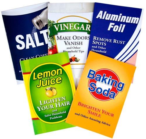 (Amazing Uses for Household Products, 5-Book Library: Aluminum Foil, Baking Soda, Lemon Juice, Salt, Vinegar)