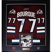 Ray Bourque Colorado Avalanche Signed Jersey Frame