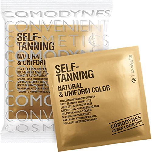 Comodynes Self Tanning Towelette Dispenser For Face and Body 30 Towelettes by Comodynes (Image #1)