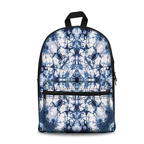 Mochila de diseño de moda para niños de vuelta a la escuela, bolsa de lona para libros, decoración de atar, diseño de...