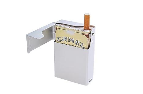 Quantum Abacus Caja/Funda de Aluminio, para 18 Cigarrillos/Paquetes de Cigarrillos (