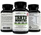 Top Quality Natural Testosterone Booster 1760 mg per serving (New and Improved 90ct.) All Natural to help Increase Energy and Stamina, to conquer the gym.