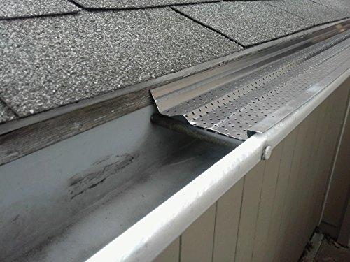 A-M Aluminum Gutter Guard 6'' - 50 feet by A-M Gutter Guard (Image #2)