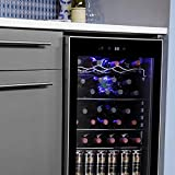 Antarctic Star 36 Bottle Wine Cooler/Cabinet