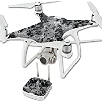 MightySkins Protective Vinyl Skin Decal for DJI Phantom 4 Quadcopter Drone wrap cover sticker skins TrueTimber Viper Urban