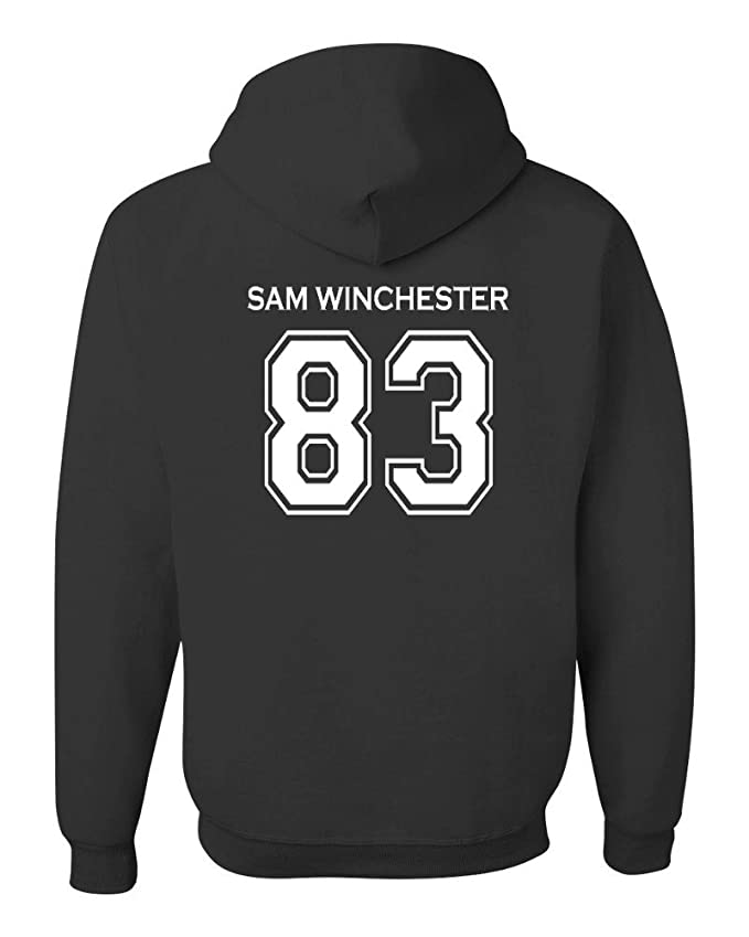Adult Supernatural Sam Winchester 2-Sided Hoodie