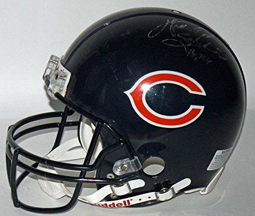 Walter Payton Autographed Helmet - Game FS PROLINE w Distressed Use - JSA Certified - Autographed NFL Helmets