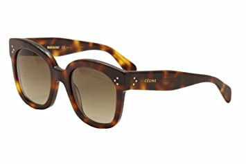 c084c21c21e Celine 41805 S 05LHA Tortoise New Audrey Cats Eyes Sunglasses Lens Category  3 S