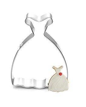 DAYAN Vestido princesa del vestido galleta cortador Fudge Cake herramientas jalea Moldes 3pcs: Amazon.es: Deportes y aire libre