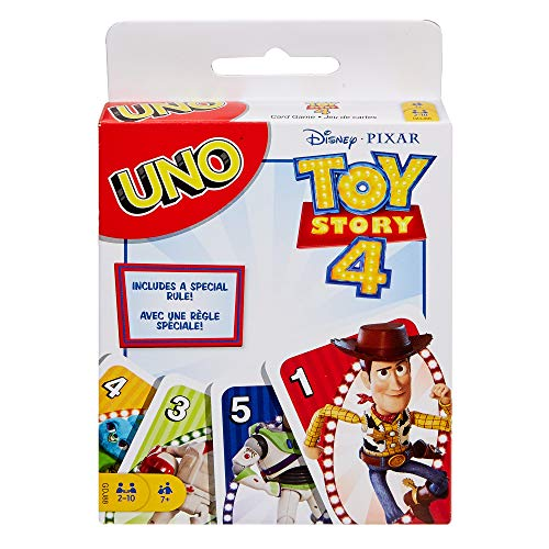 UNO Toy Story 4 Card Game from Toy Story