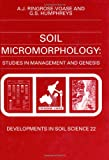 Soil Micromorphology, , 0444897925