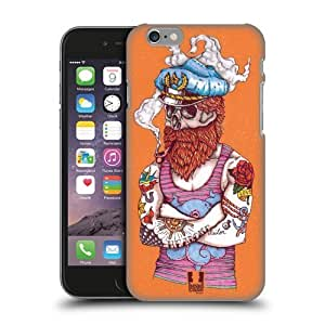 Head Case Designs Aye Captain Nautical Tattoos Protective Snap-on Hard Back Case Cover for Apple iPhone 6 4.7