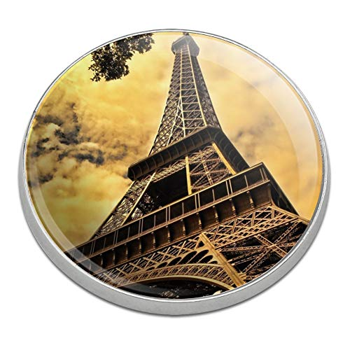 - GRAPHICS & MORE Eiffel Tower Paris Vintage Golfing Premium Metal Golf Ball Marker