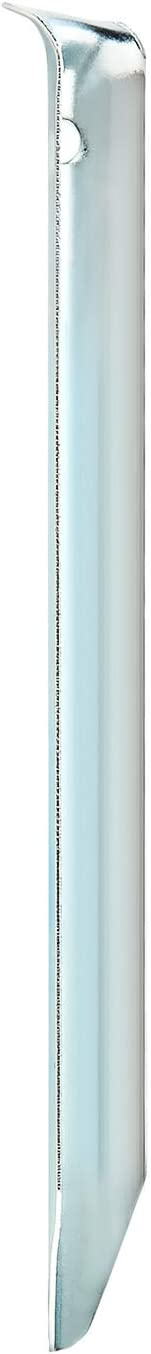 robuste Erdn/ägel f/ür Camping und Outdoor ideal f/ür normalen Boden com-four/® 12x Zelt-Heringe aus Stahl halbrunde