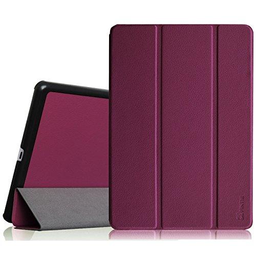 Fintie iPad Mini 3/2/1 Case - Lightweight Slimshell Smart Stand Cover with Premium PU Leather Back Protector for Apple iPad Mini 1/Mini 2/Mini 3 (Auto Wake/Sleep), Purple