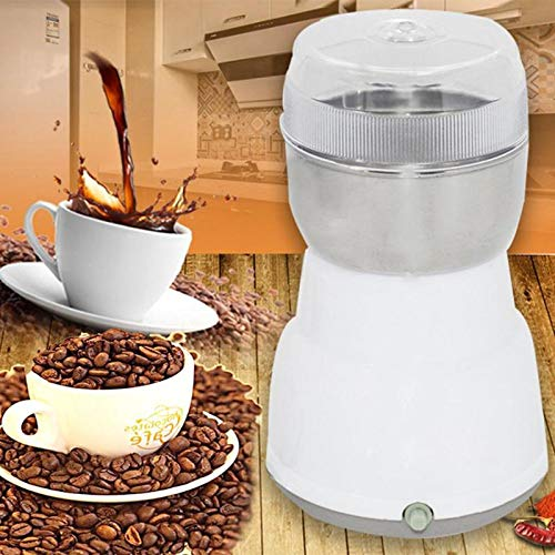 rinder Multi-functional EU Plug Coffee Grinder Stainless Spices/Nuts/Grains/Coffee Bean Grinding Tool ()