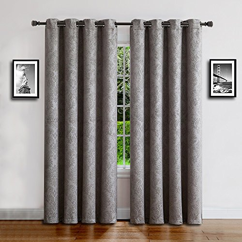 Cheap  Warm Home Designs 1 Panel of Extra Long Light Gray 54