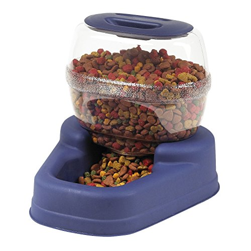 Dry Food Feeder (Bergan Petite Gourmet Feeder, 6 Pound Capacity)