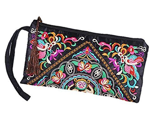 Butterfly Embroidered Wallet - 3
