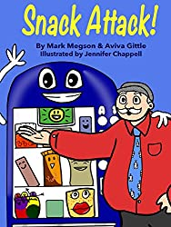 Snack Attack!: A story about loyalty and friendship with bright, funny pictures kids love. Each small chapter ends with a though-provoking question to improve reading comprehension.