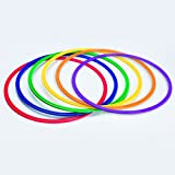 S&S Worldwide YS-AR-20 Spectrum Flat Hoops/Agility Rings, 19'
