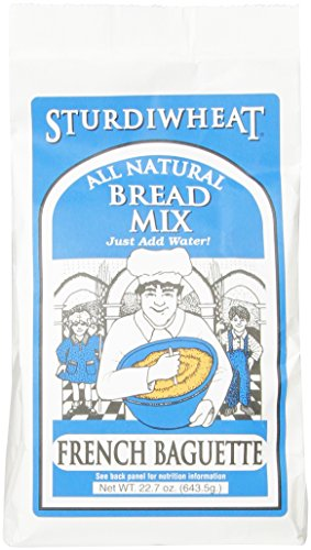 Sturdiwheat All Natural Bread Mix, French Baguette, 22.7-Ounce Package (Pack of 4) ()