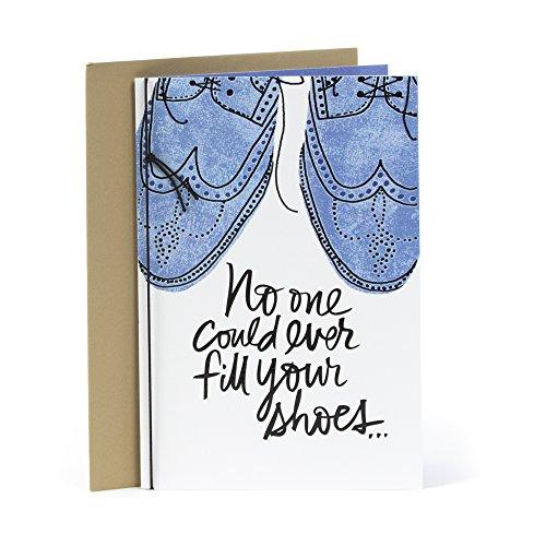 Hallmark Mahogany Birthday Greeting Card for Him (Wingtip Shoes) - Birthday Greeting Card For Him