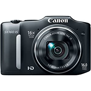 Canon PowerShot SX160 IS 14.1 MP Digital Camera