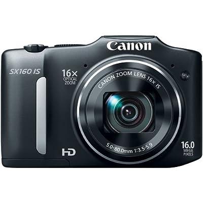 Canon PowerShot SX160 IS 14.1 MP Digital Camera