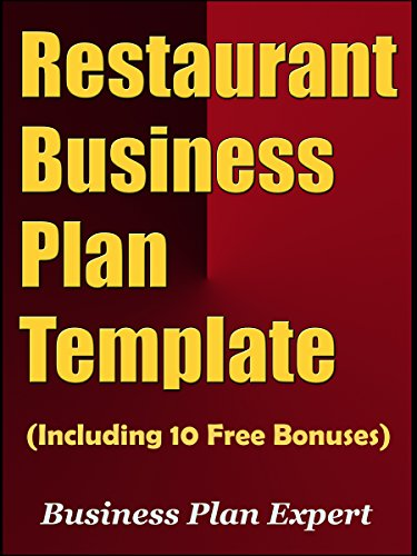 Amazoncom Restaurant Business Plan Template Including Free - Free business plan template for restaurant