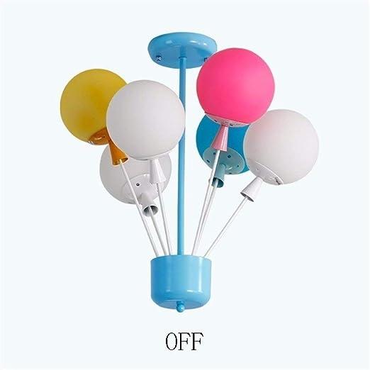 luminaire Salon Ballon de Couleur d/écoratif Lampe /à LED Moderne luminaire plafonnier pour la Chambre /à Coucher d/écoration de Bureau Jardin denfants
