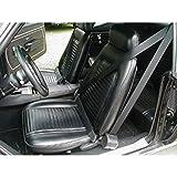 Eckler's Premier Quality Products 33186617 Camaro 3Point Retractable Front Seat Belt Kit With Plain Buckles Coupe Morris Classics Concepts