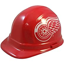 NHL Detroit Red Wings Hard Hats with Ratchet Suspension