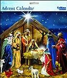 Square Advent Calendar (WDM9912) - Nativity Scene