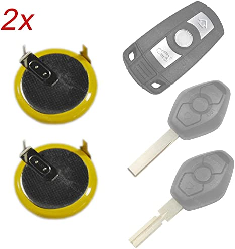 2x Batterie Akku Lir2025 Vl2020 Für Schlüssel Auto Funk Elektronik