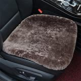 Sheepskin Seat cushion? The non-slip comfort in a car, airplane, in the office or at home.