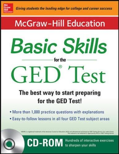 McGraw-Hill Education Basic Skills for the GED Test with DVD (Book + DVD Set) (Mcgraw Hill's Pre Ged)