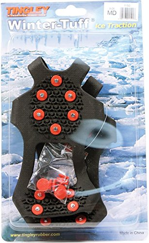 Winter Tuff Ice And Snow Traction Overshoes,Medium