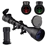 Best 22 Rifle Scopes - OTW Tactical Rifle Scope 3-9X56 Red&Green Mil-dot Illuminated Review